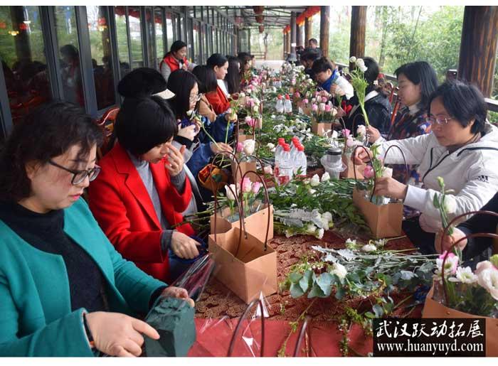 中铁武汉电气化局38妇女节